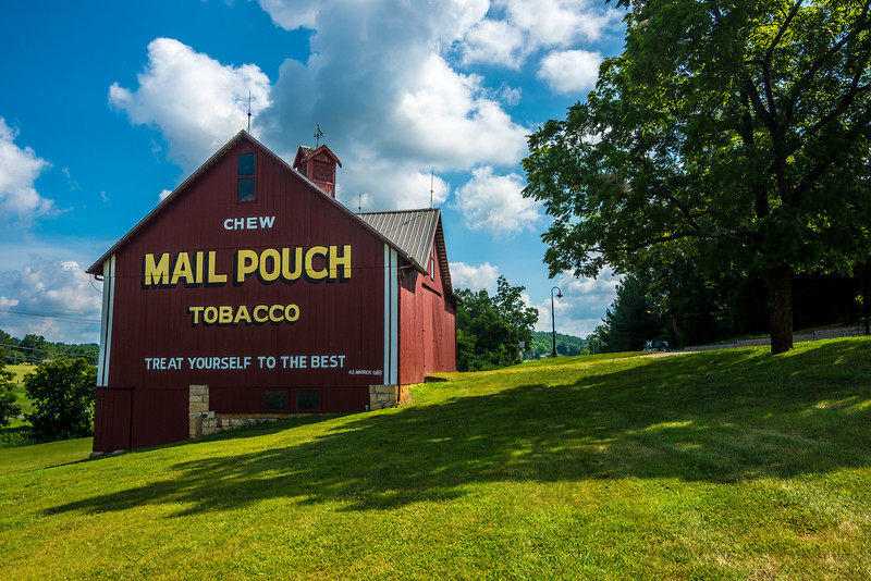 Mail Pouch Tobacco Barn - Indiana