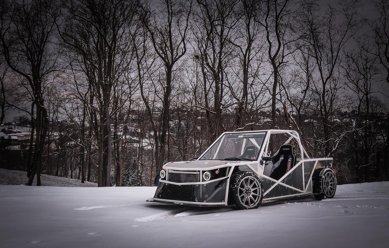Terry's Tube-a-Ruu 400hp Exotruck - Subaru Impreza GC8 & RS