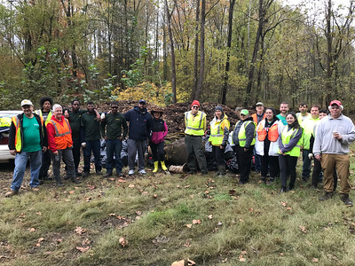 10.28.18 Dogwood Run Cleanup with the Greater Patpasco Community Association