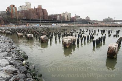 Brooklyn Bridge Park Pylons