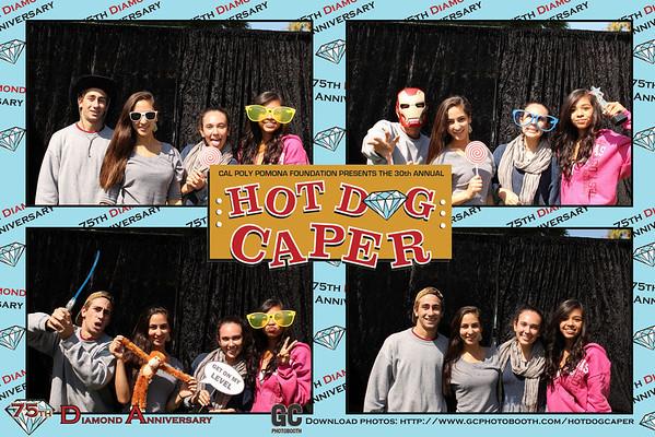 Hot Dog Caper Photo Booth Prints