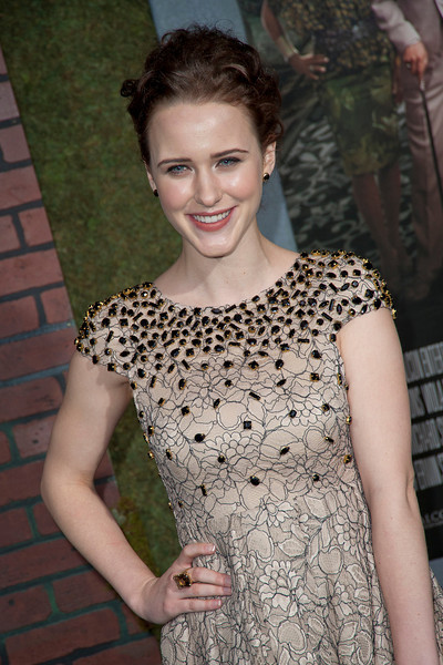 HOLLYWOOD, CA - FEBRUARY 06: Actress Rachel Brosnahan attends the Los Angeles premiere of Warner Bros. Pictures' 'Beautiful Creatures' at TCL Chinese Theatre on Wednesday February 6, 2013 in Hollywood, California. (Photo by Tom Sorensen/Moovieboy Pictures)