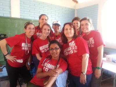 Texas Tech Nurses and Allied Health