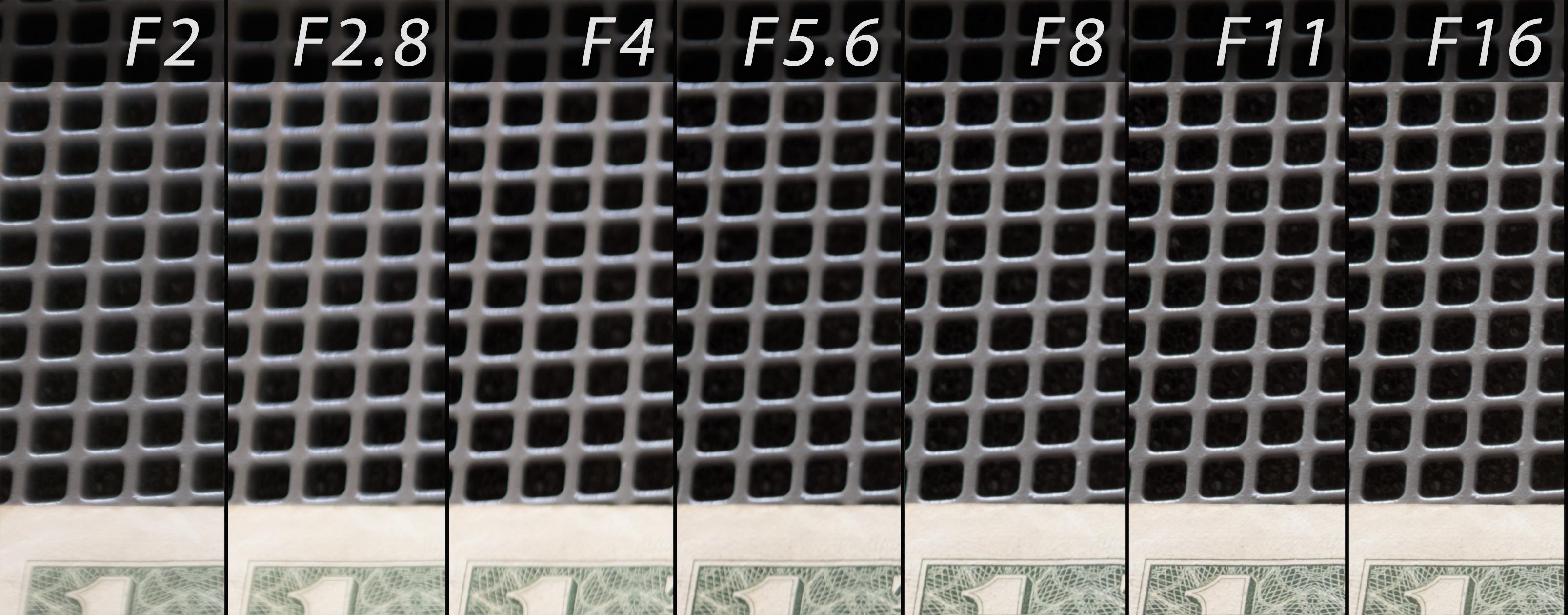 FujiX100T Lens Corners Test