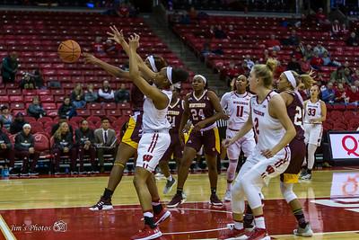 UW Sports - Women's Basketball - November 08, 2018