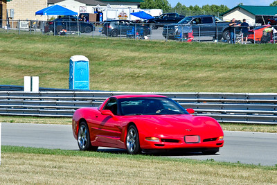 2020 SCCA July 29 Pitt Race Interm Red Vette