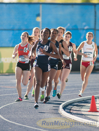 NCAA D2 2014 800M Semis Friday Women