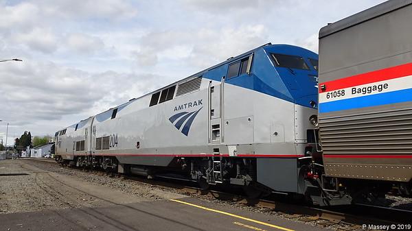 18 - 19 Apr 2019 Amtrak's Coast Starlight