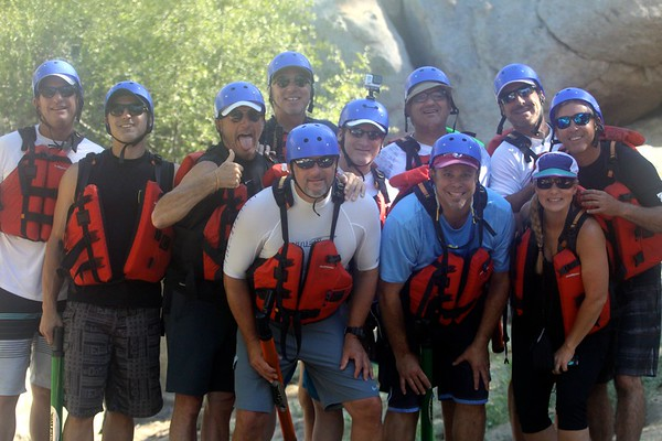 """High-Five, We're Still Alive"", Kern River Rafting Trip, July 2017"