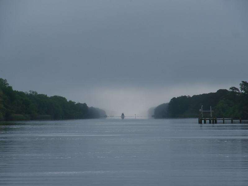 Pungo River fog