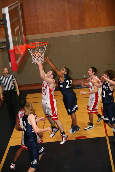 Basketball - JV Boys' vs College Prep - Feb 6, 2009
