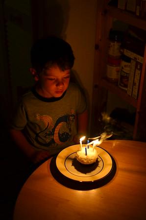 Dante's Half Birthday