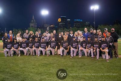 5-15-15 Blake School v Minneapolis Southwest Baseball at Parade Stadium
