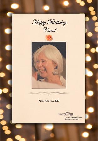 Carol's 70th Birthday Celebration