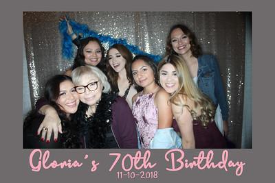 Gloria's 70th Birthday