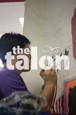 Art Student at Work 5-17-13