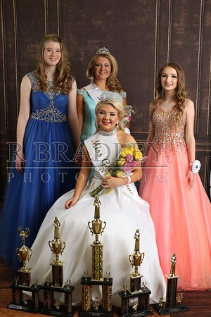 2019 Dacusville Pageant -- Back stage portraits