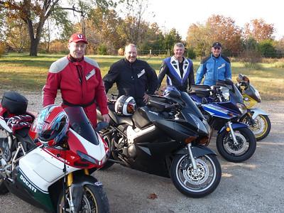 Arkansas & Missouri Halloween ride 2008