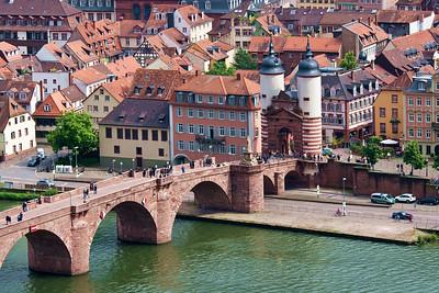 Trier, Heidelberg, Rothenburg