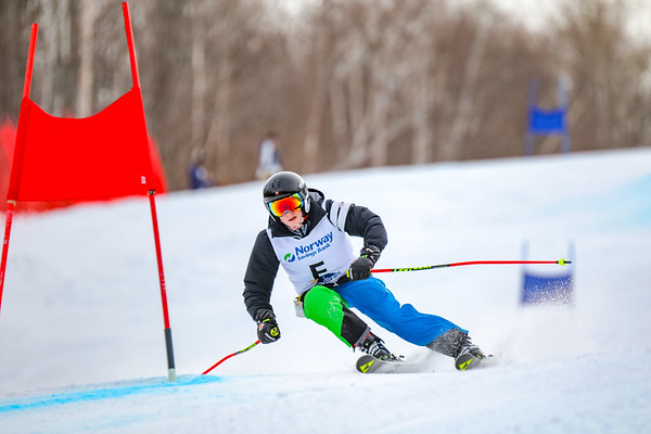 Giant Slalom: Girls 2nd Run