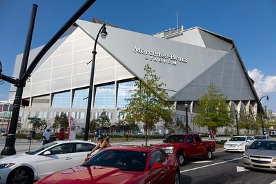 Mercedes-Benz Stadium Opening Game