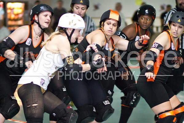 Big Easy Rollergirls vs. TRG