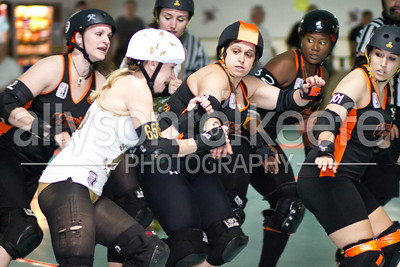 Big Easy Rollergirls vs. TRG