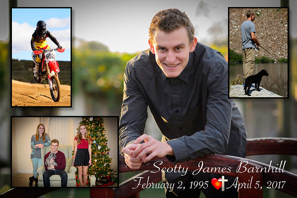 Our Beloved Son Scotty James Barnhill Rest His Soul