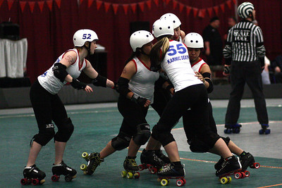 I5 Rollergirls vs. SDB, Galaxy Girls