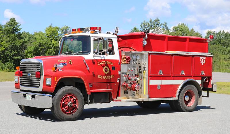 Engine 4   1991 Ford L8000 / Dingee   1000 / 1200