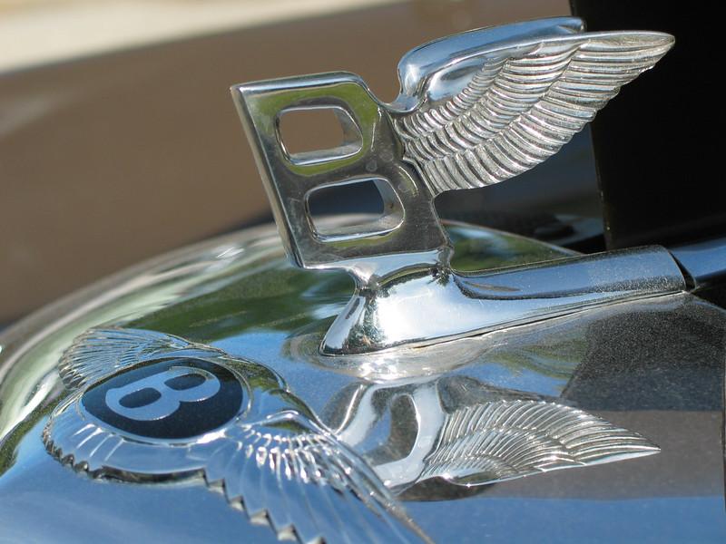1958 Bentley 'S' (closeup)