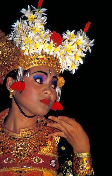Portrait of Balinese Dancer
