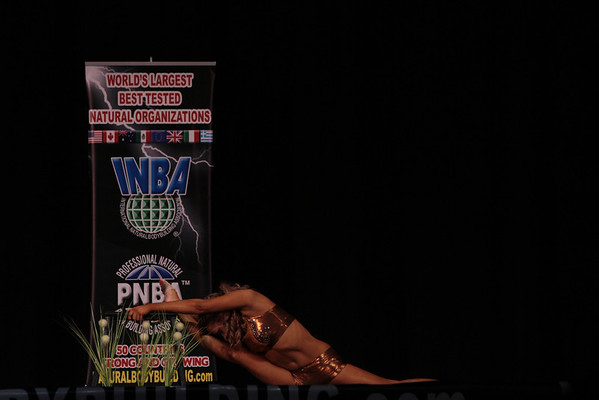 2012 INBA Natural Universe Prejudging in Chicago, IL