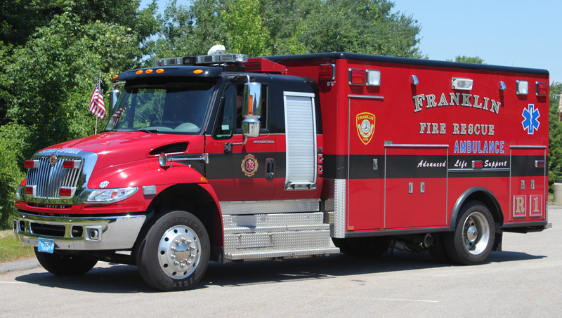 Rescue 1  2006 International/Horton