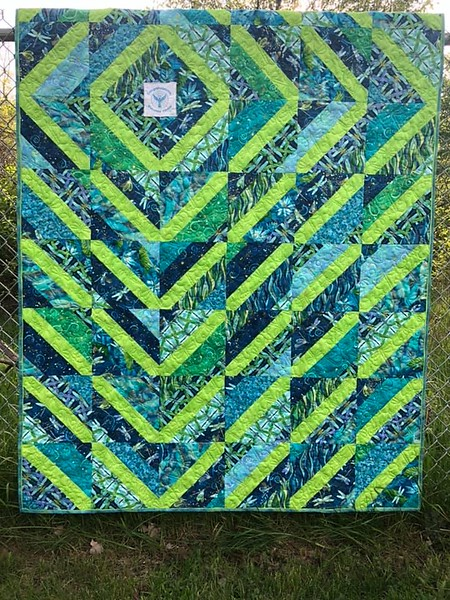 Pieced by Kathy Kittle - Pattern Hope Quilt