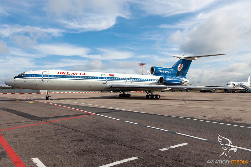 Belavia Belarusian Airlines / Tupolev Tu-154M / EW-85748