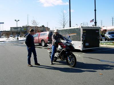 2009-12-20 Kenny's new bike