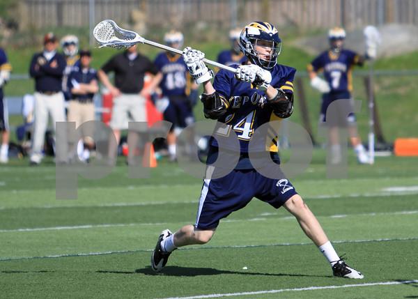 Pope John vs Vernon Boys Varsity Lacrosse