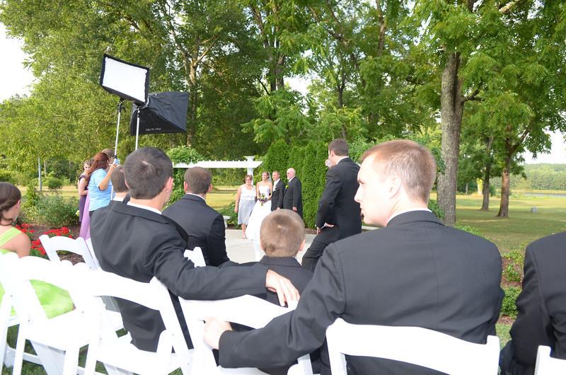 taking formal photos