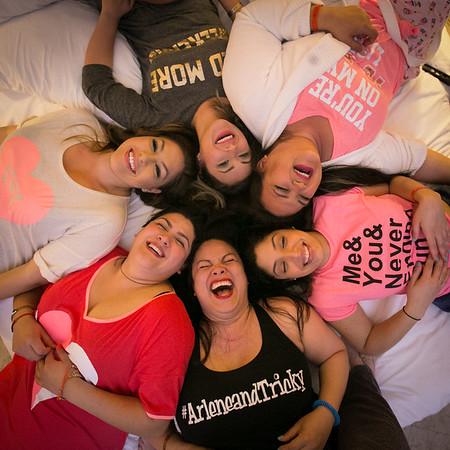 Arlene's Bachelorette Pajama Party