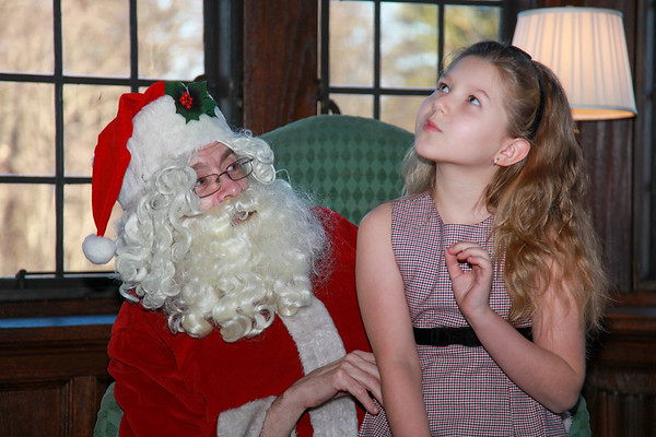 Santa Claus is coming to castle - December 10, 2011