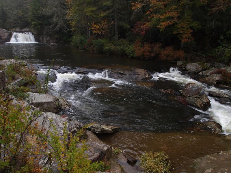 Upper Linville Falls, near the Blue Ridge Parkway.