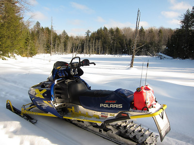 2010 Michigan Snowmobiling Trip