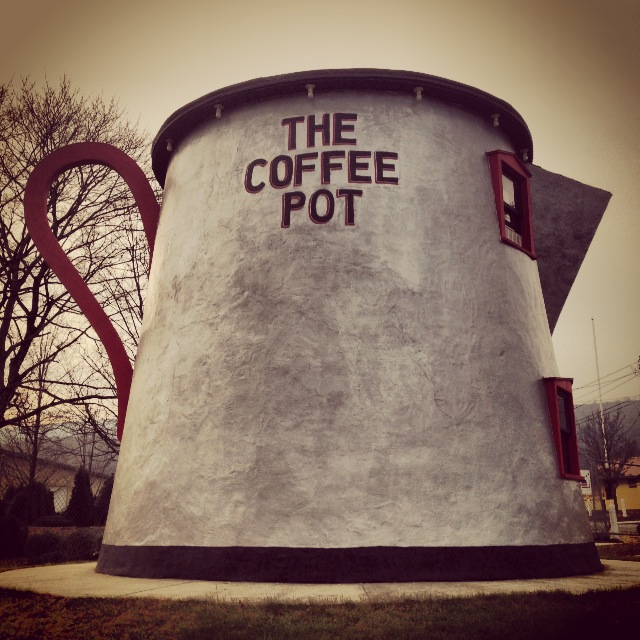 bedford coffee pot