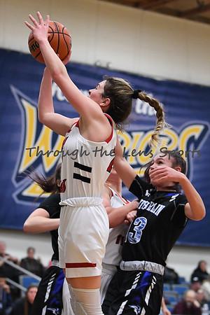 Clatskanie vs. Sutherlin Girls High School Basketball