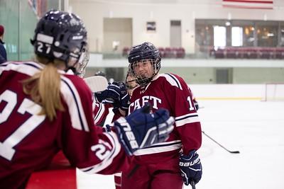 2/6/19: Girls' Varsity Hockey v Greenwich Academy