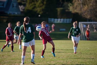 10/7/15: Girls' JV Soccer v Greenwich Academy