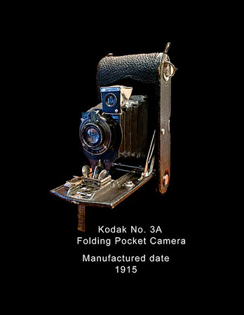 Kodak No. 3a -Folding Pocket Camera - 1915