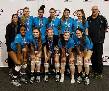 Alliance Volleyball 18-1 Las Vegas 2/19/17