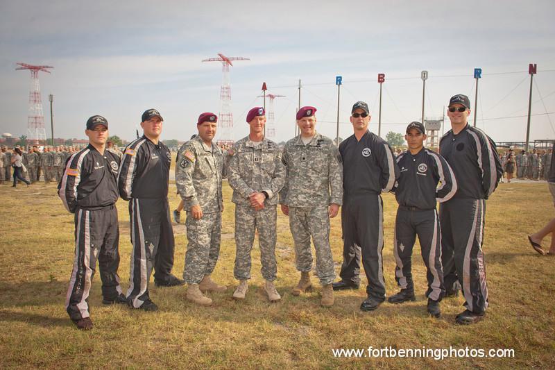 2011-05-13 (FORT BENNING, GA) Bravo Company 1/507th PIR Class 019-11 Graduation Ceremony at Eubanks Field, Fort Benning, GA. Photo by Susanna Avery-Lynch - susanna.lynch@us.army.mil